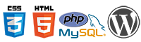 Logos lenguajes desarrollo web