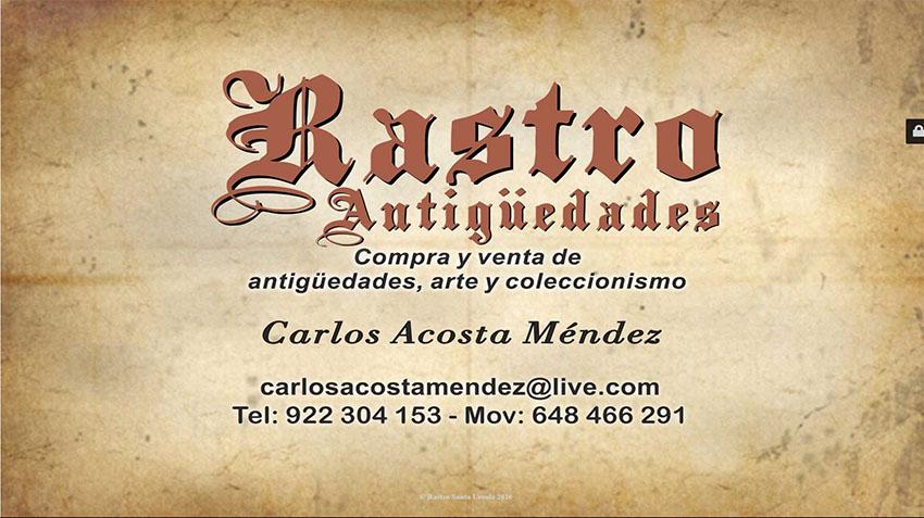 Foto ejemplo Rastro