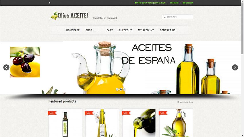 Foto ejemplo Aceites